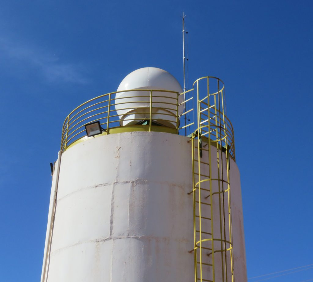 Projeto AgriHub Rede Meteorologica RIIMMT - Radar AMAGGI