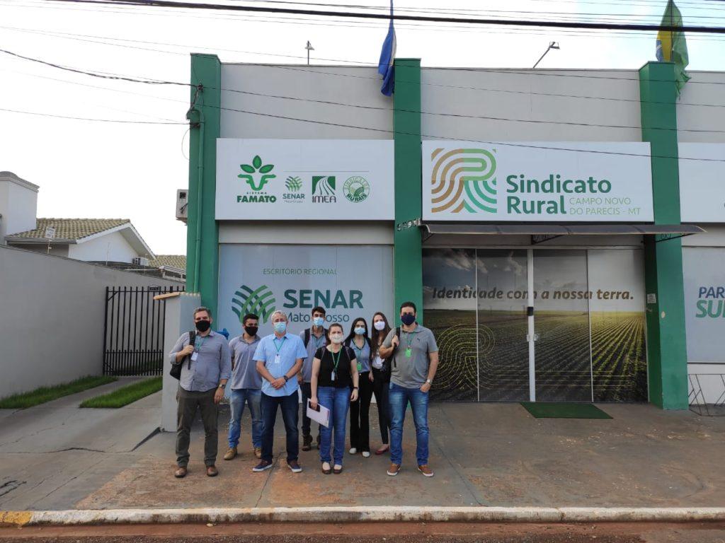 Instituto AgriHub e UFV Difusao Tecnologica visitam o Sindicato Rural de Campo Novo do Parecis para Workshop