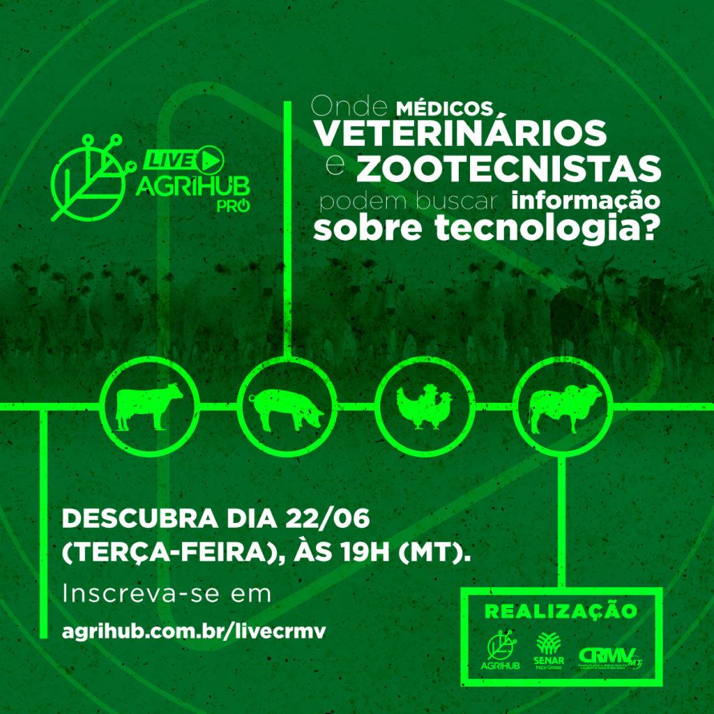 Live AgriHhub PRÓ médicos veterinários e zootecnistas