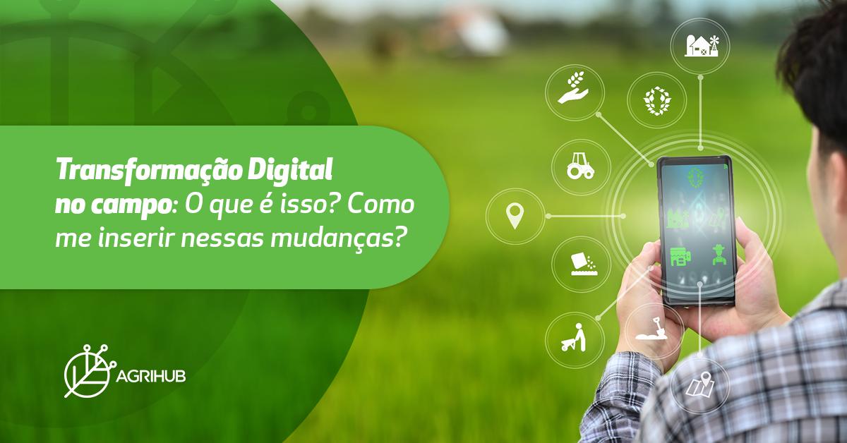 transformação digital no campo
